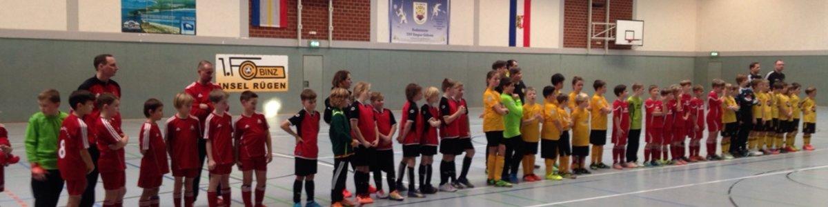 Bergener E- Junioren gewinnen den Pokal des Binzer Bürgermeisters