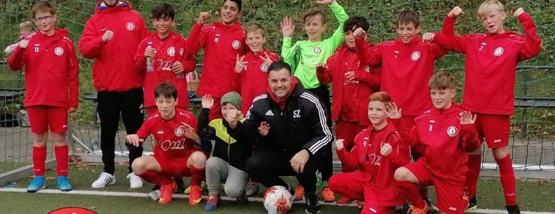 D-Junioren gewinnen Pokalspiel