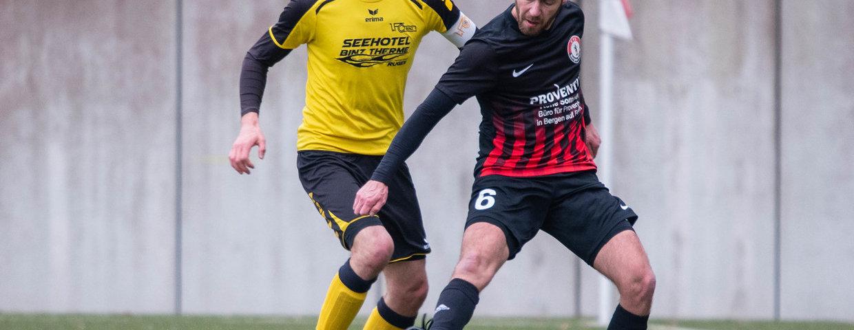 2. Herren spielen 1:1 gegen 1. FC Binz