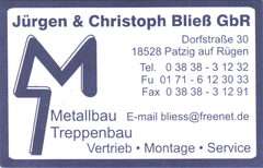 Jürgen & Christoph Bließ GbR