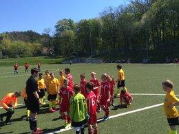 Bergener E1- Jugend gewinnt Heimspiel gegen Altenkirchen überzeugend