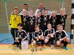 E- Jugend des VfL Bergen wird Verbandsmeister beim Futsal